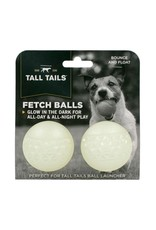 Tall Tails TALL TAILS GLOW-IN-THE-DARK FETCH BALLS 2-PACK