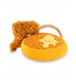 P.L.A.Y. Pet Lifestyle and You P.L.A.Y. BARKING BRUNCH COLLECTION CHICKEN & WOOFLES TOY