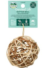 Oxbow Animal Health OXBOW ENRICHED LIFE RATTAN BALL SMALL ANIMAL TOY