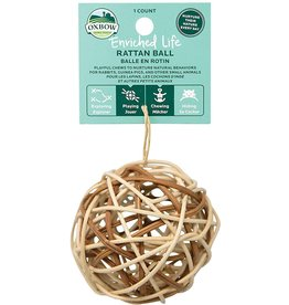 Oxbow Animal Health OXBOW ENRICHED LIFE RATTAN BALL SMALL ANIMAL TOY