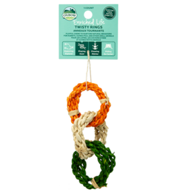 Oxbow Animal Health OXBOW ENRICHED LIFE TWISTY RINGS SMALL ANIMAL TOY