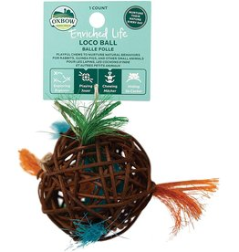 Oxbow Animal Health OXBOW ENRICHED LIFE LOCO BALL SMALL ANIMAL TOY