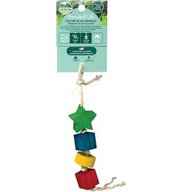 Oxbow Animal Health OXBOW ENRICHED LIFE COLOR PLAY DANGLY SMALL ANIMAL TOY