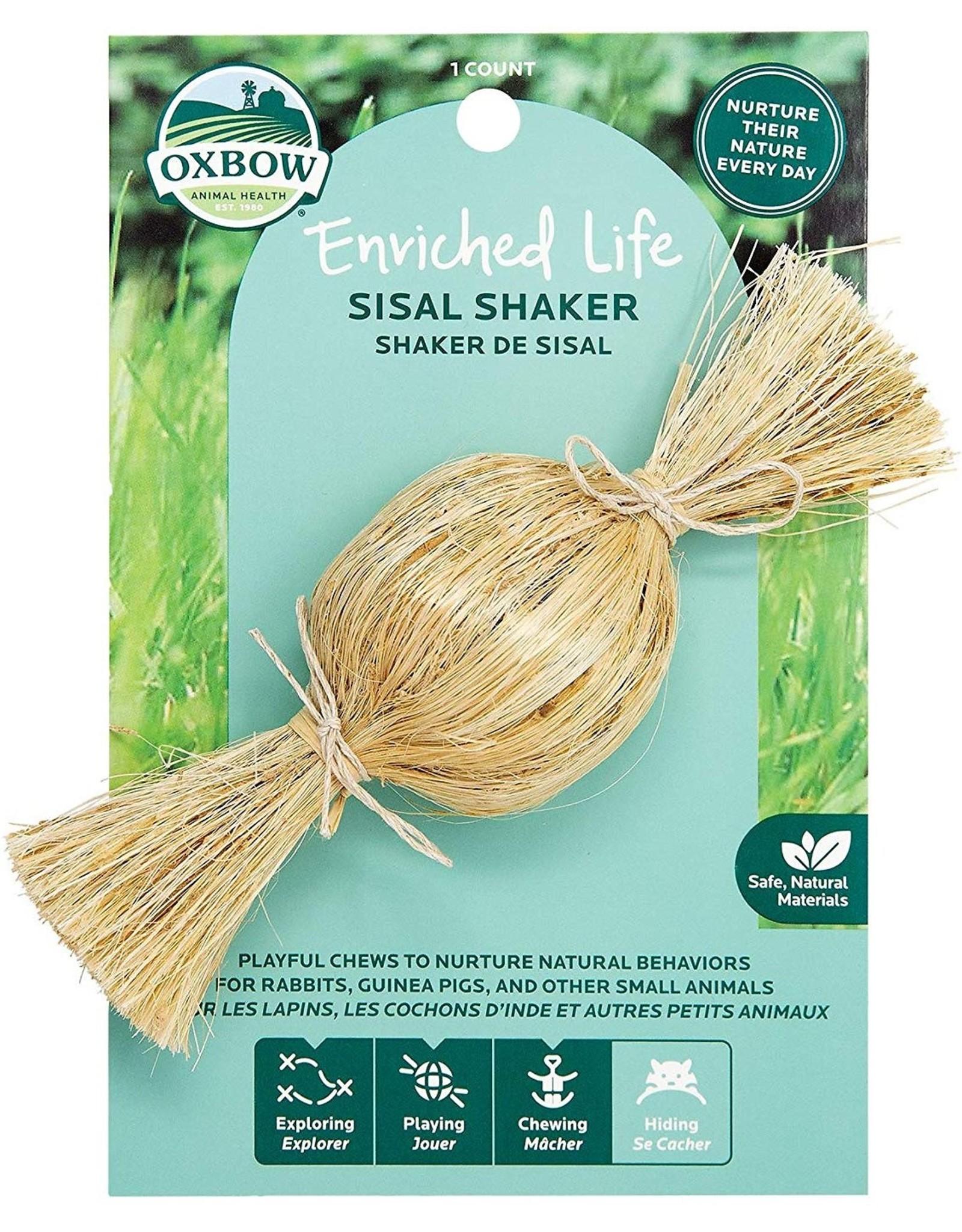 Oxbow Animal Health OXBOW ENRICHED LIFE SISAL SHAKER SMALL ANIMAL TOY