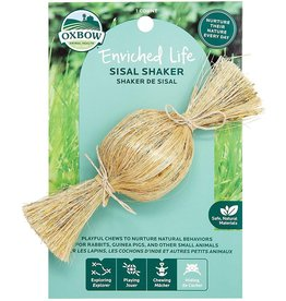 Oxbow Animal Health OXBOW ENRICHED LIFE SISAL SHAKER SMALL ANIMAL TOY