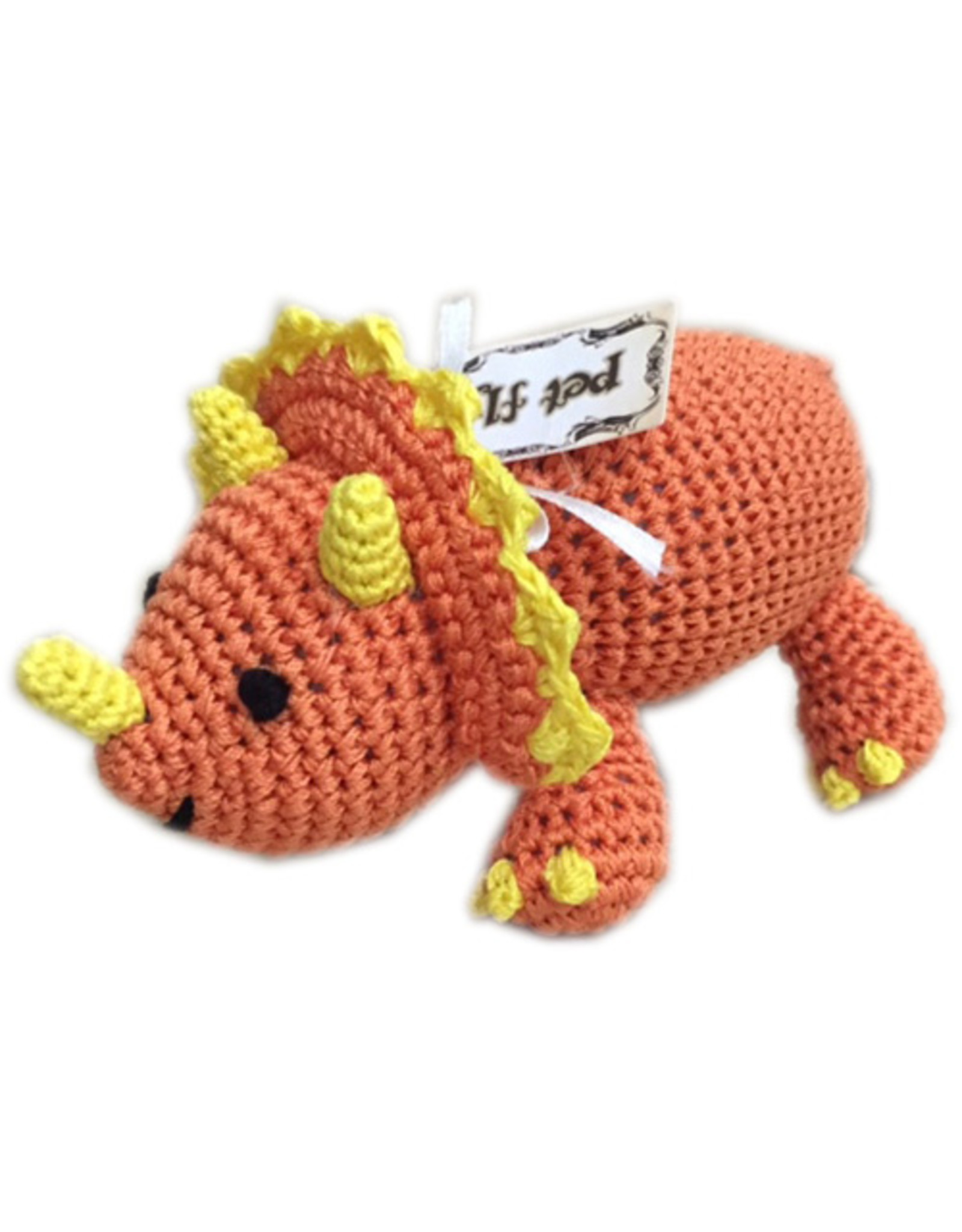 Mirage Pet Products PET FLYS KNIT KNACKS DOG TOY
