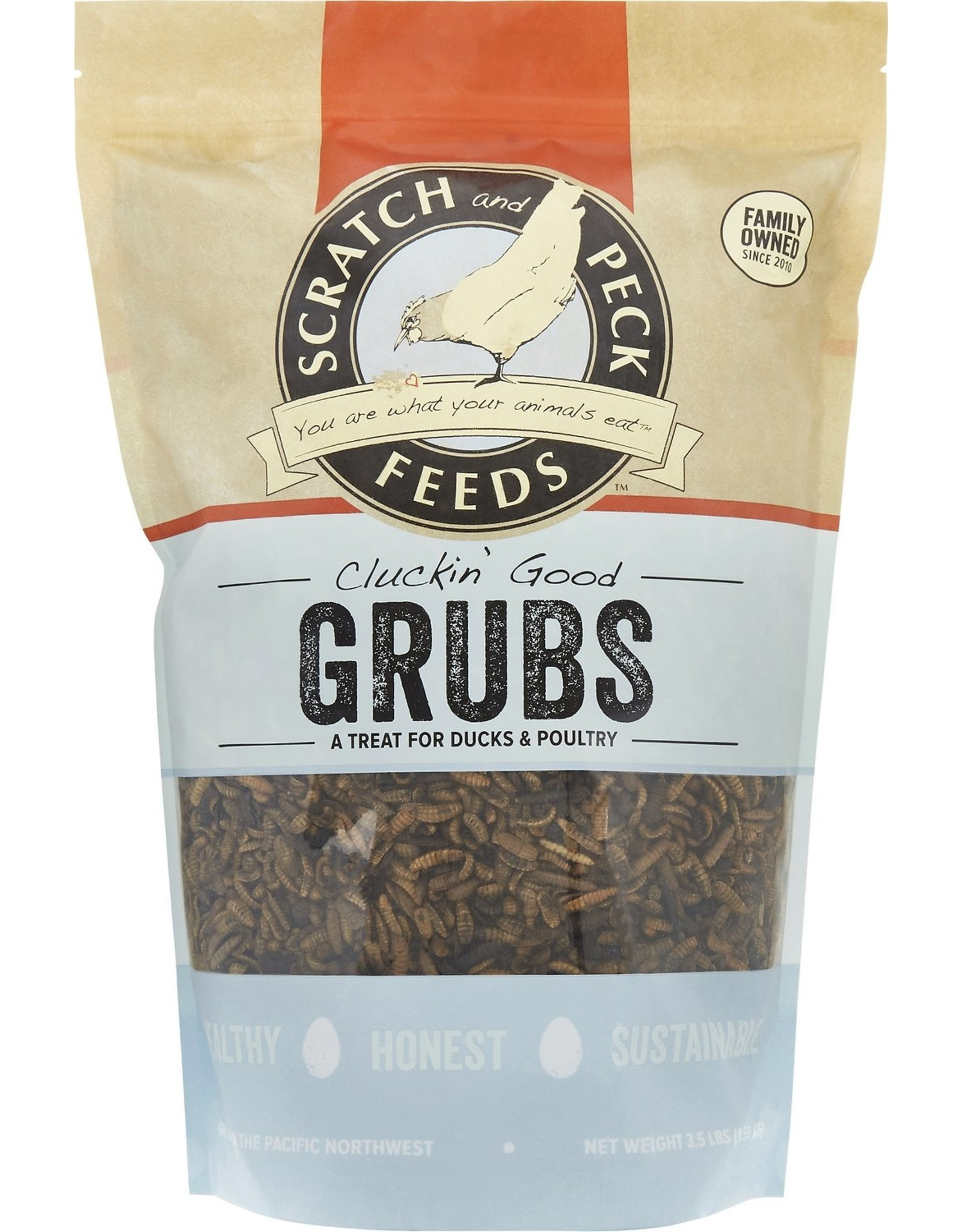 Scratch & Peck Feeds SCRATCH & PECK CLUCKIN' GOOD GRUBS
