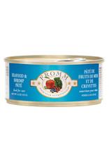 Fromm Family Pet Food FROMM CAT FOUR-STAR NUTRITIONALS SEAFOOD & SHRIMP PÂTÉ 5.5OZ