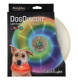 Nite Ize NITE IZE DOGDISCUIT LED FLYING DISC DISC-O