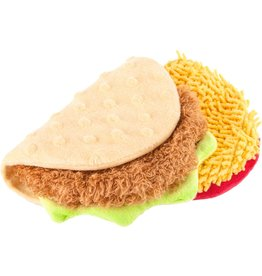 P.L.A.Y. Pet Lifestyle and You PLAY TACO PLUSH TOY