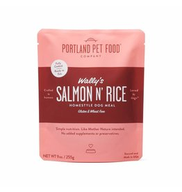 Portland Pet Food Company PORTLAND PET FOOD DOG WALLY'S SALMON N' RICE 9OZ