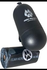 Alpha Dog Pack ALPHA DOG PACK POOP BAG DISPENSER WITH 15 100% COMPOSTABLE PLANT-BASED DOG POOP BAGS