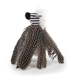 PETLINKS PETLINKS HYPERNIP ZIPPY ZEBRA FEATHERS CAT TOY