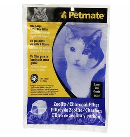 Petmate PETMATE ZEOLITE CHARCOAL FILTER FOR HOODED LITTER PANS