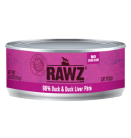 RAWZ Natural Pet Food RAWZ CAT 99% DUCK & DUCK LIVER PÂTÉ