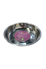 Messy Mutts MESSY CATS STAINLESS STEEL SAUCER SHAPED BOWL