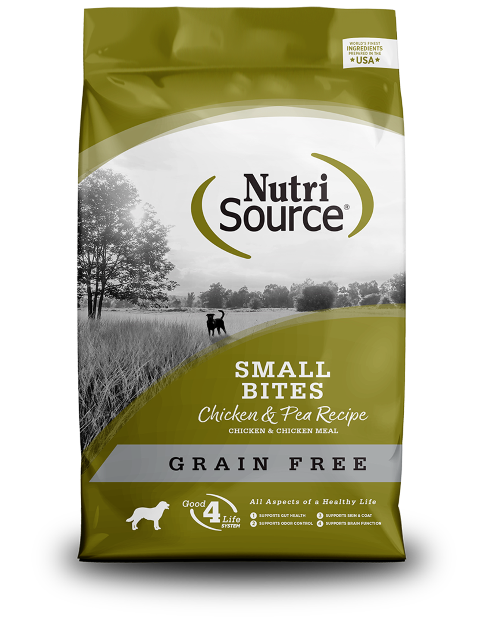 NutriSource Pet Foods NUTRISOURCE DOG SMALL BITES CHICKEN & PEA RECIPE