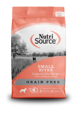 NutriSource Pet Foods NUTRISOURCE DOG SMALL BITES SEAFOOD SELECT RECIPE