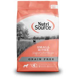 NutriSource Pet Foods NUTRISOURCE DOG SMALL BITES SEAFOOD SELECT RECIPE