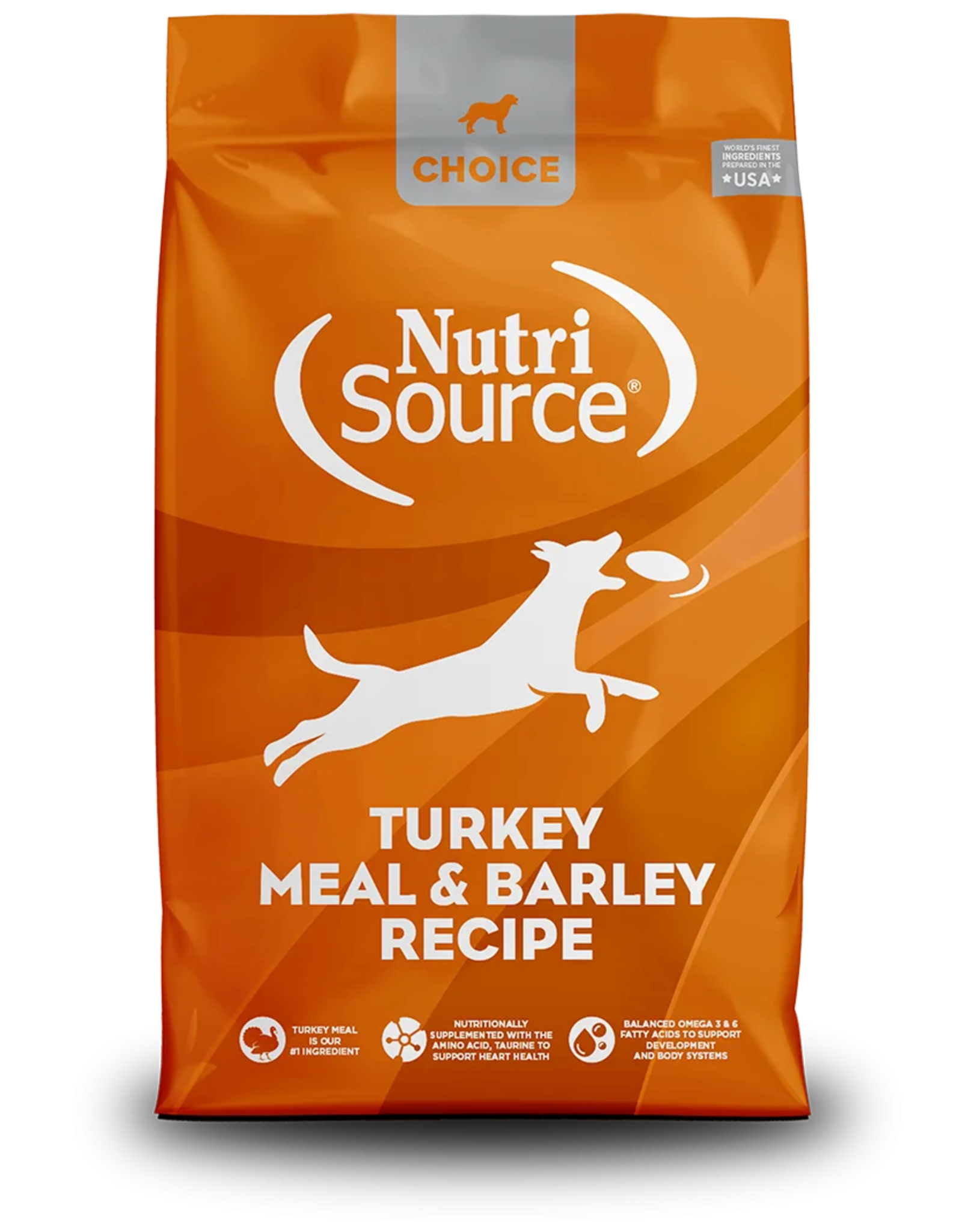 NutriSource Pet Foods NUTRISOURCE DOG CHOICE TURKEY MEAL & BARLEY RECIPE
