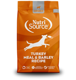 NutriSource Pet Foods NUTRISOURCE DOG CHOICE TURKEY MEAL & BARLEY RECIPE