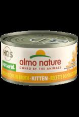 Almo Nature ALMO NATURE KITTEN HQS NATURAL CHICKEN RECIPE IN BROTH 2.47OZ