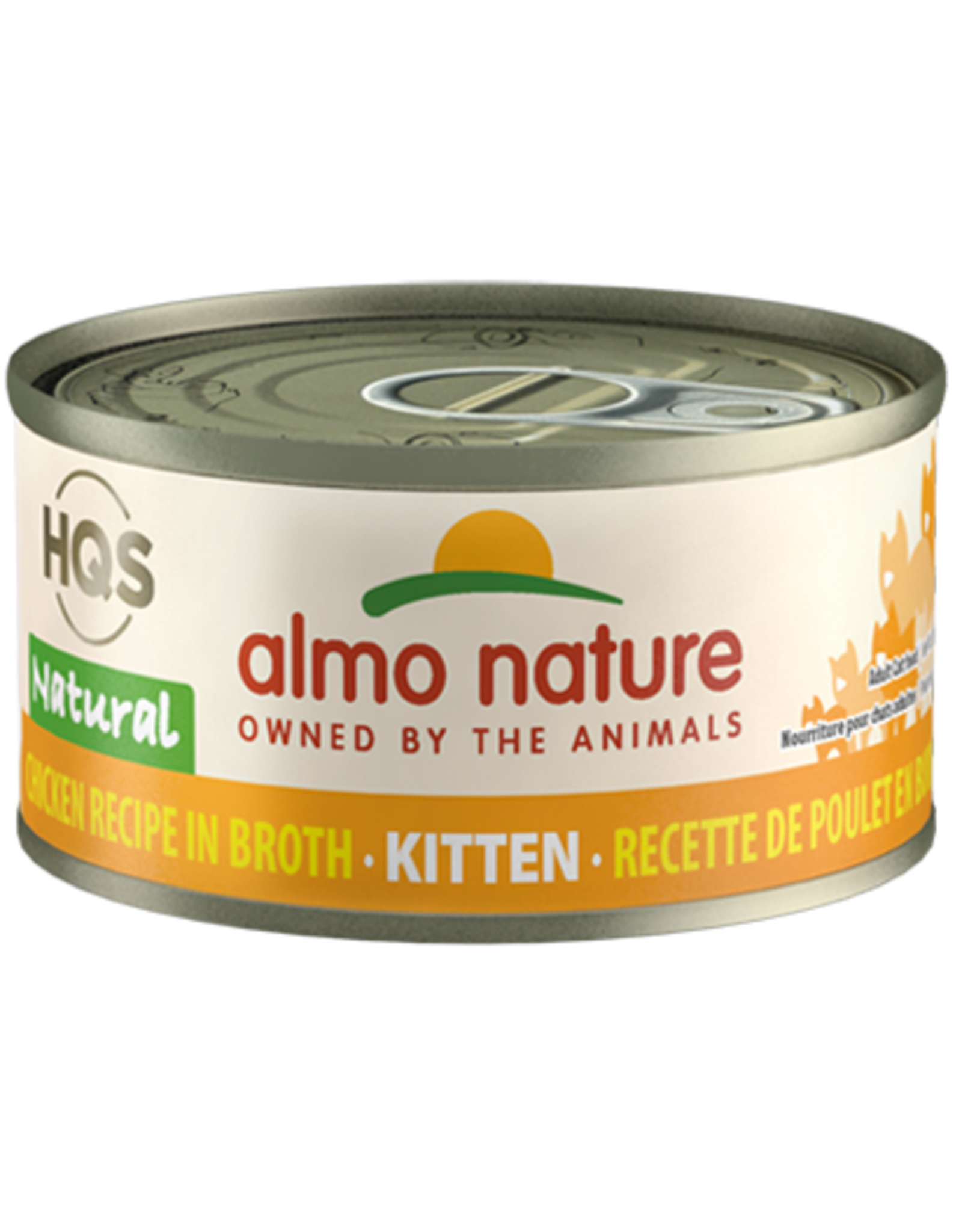Almo Nature ALMO NATURE KITTEN HQS NATURAL CHICKEN RECIPE IN BROTH 2.47OZ