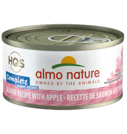 Almo Nature ALMO NATURE CAT HQS COMPLETE SALMON RECIPE WITH APPLES IN GRAVY 2.47OZ