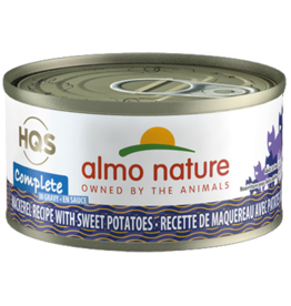Almo Nature ALMO NATURE CAT HQS COMPLETE MACKEREL RECIPE WITH SWEET POTATOES IN GRAVY 2.47OZ