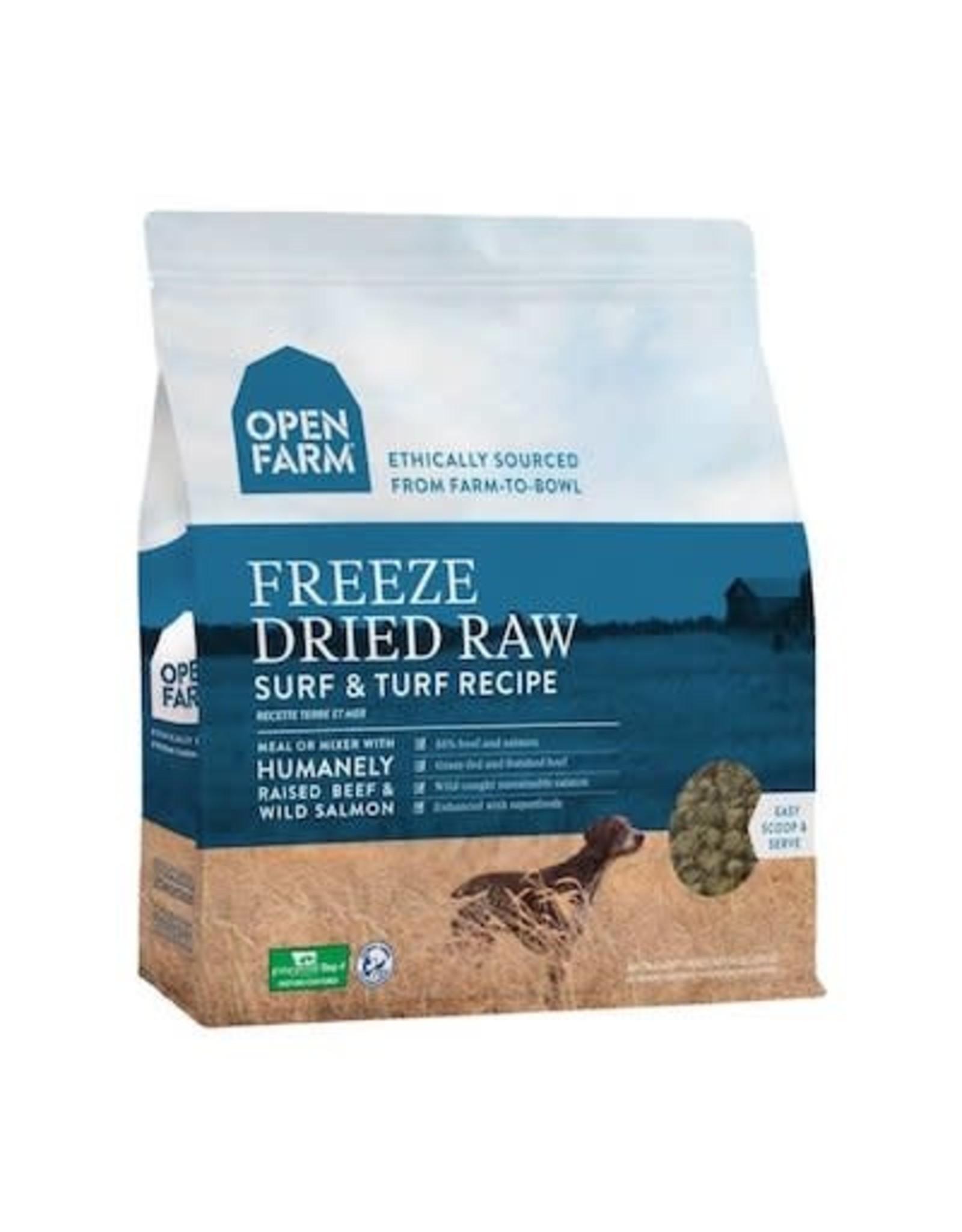 Open Farm OPEN FARM DOG FREEZE DRIED RAW SURF & TURF RECIPE