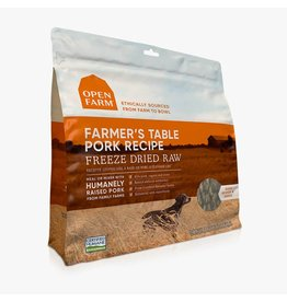 Open Farm OPEN FARM DOG FREEZE DRIED RAW FARMER'S TABLE PORK RECIPE