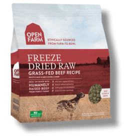 Open Farm OPEN FARM DOG FREEZE DRIED RAW GRASS-FED BEEF RECIPE