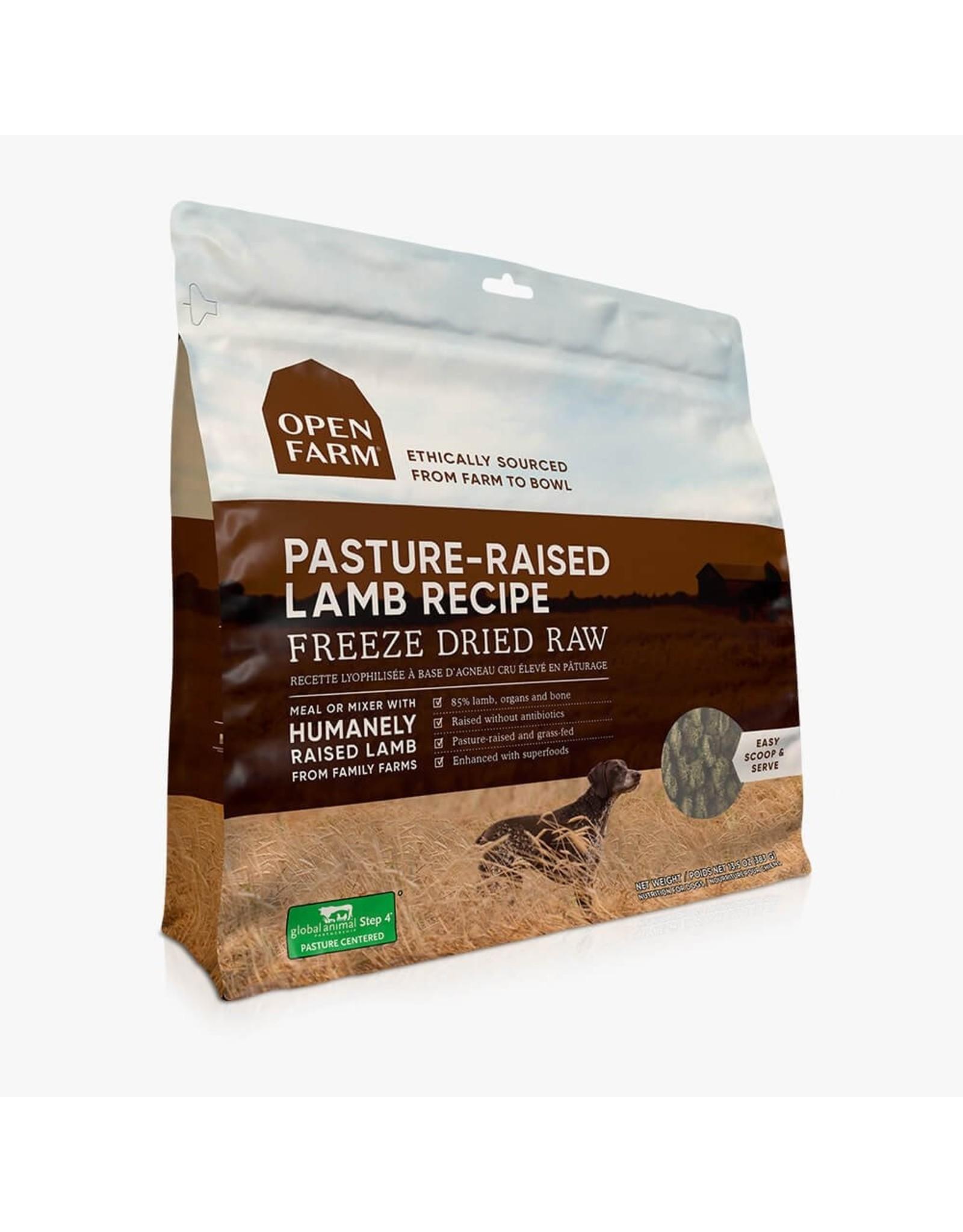 Open Farm OPEN FARM DOG FREEZE DRIED RAW PASTURE-RAISED LAMB RECIPE