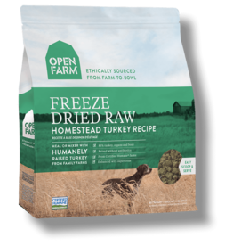 Open Farm OPEN FARM DOG FREEZE DRIED RAW HOMESTEAD TURKEY RECIPE