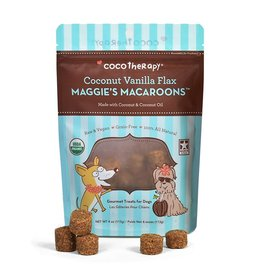 CocoTherapy COCOTHERAPY MAGGIE'S MACAROONS COCONUT VANILLA FLAX 4OZ