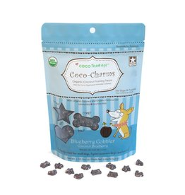CocoTherapy COCOTHERAPY COCO-CHARMS TRAINING TREATS BLUEBERRY COBBLER 5OZ