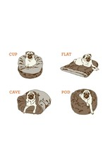 P.L.A.Y. Pet Lifestyle and You PLAY SNUGGLE BED