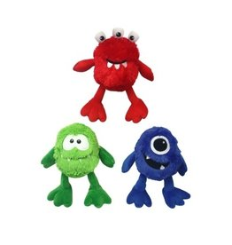 "Multipet International, Inc. MULTIPET 9"" PLUSH MONSTER TOY WITH LARGE SQUEAKER"