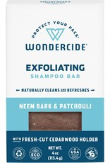 Wondercide WONDERCIDE EXFOLIATING SHAMPOO BAR NEEM BARK & PATCHOULI 4OZ