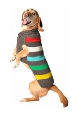 Chilly Dog CHILLY DOG CHARCOAL STRIPE SWEATER