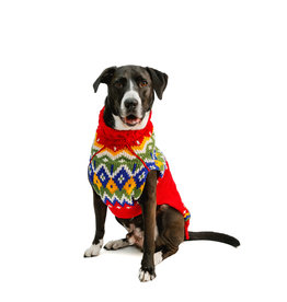 Chilly Dog CHILLY DOG HOLIDAY FAIRISLE WOOL SWEATER