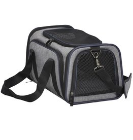 MidWest Homes for Pets MIDWEST DUFFY GRAY EXPANDABLE PET CARRIER