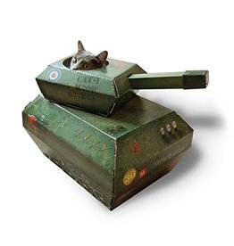 SUCK UK SUCK UK TANK CAT PLAYHOUSE