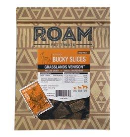 Roam Pet Treats ROAM PET TREATS GRASSLANDS VENISON BUCKY SLICES 2OZ