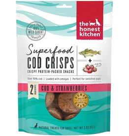 The Honest Kitchen THE HONEST KITCHEN SUPERFOOD COD CRISPS COD & STRAWBERRIES 3OZ