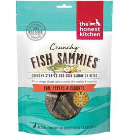 The Honest Kitchen THE HONEST KITCHEN CRUNCHY FISH SAMMIES COD STUFFED WITH CARROTS & APPLES 3.5OZ