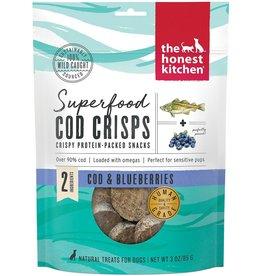 The Honest Kitchen THE HONEST KITCHEN SUPERFOOD COD CRISPS COD & BLUEBERRY 3OZ