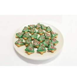 Woofables Bakery WOOFABLES BAKERY MINI HOLIDAY TREE COOKIE
