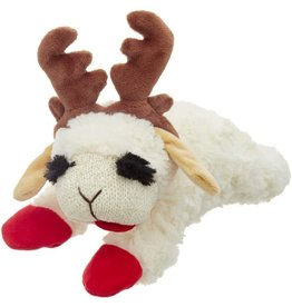 Multipet International, Inc. MULTIPET HOLIDAY LAMBCHOP TOY WITH ANTLERS