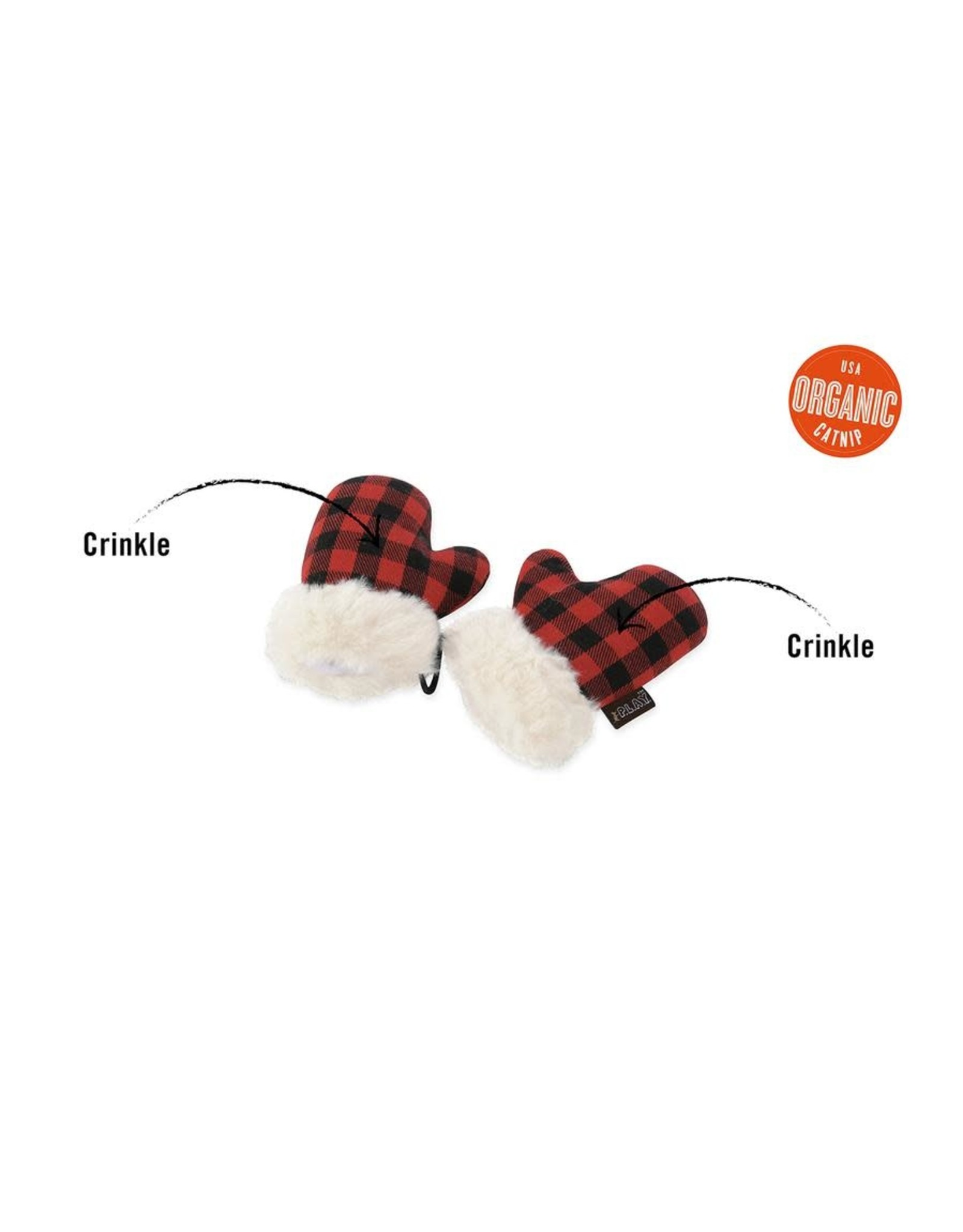 P.L.A.Y. Pet Lifestyle and You PLAY KITTEN MITTENS CAT TOY